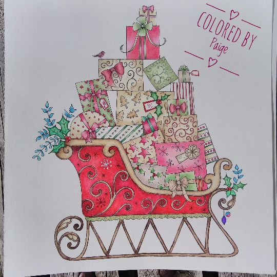 Take A Peek At This Great Artwork On Johanna Basfords Colouring Gallery BasfordPrismacolorChristmas DecorationsColoring BooksAdult