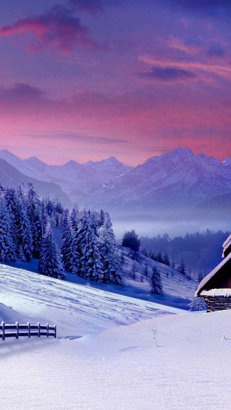 Landscape 4K Ultra HD Wallpaper | Winter Landscape 4K Ultra HD wallpaper | 4k-Wallpaper.Net