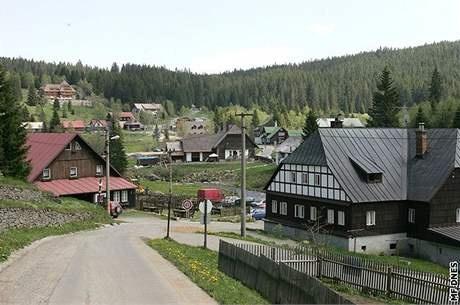 Česko, Modrava - Šumavská ves