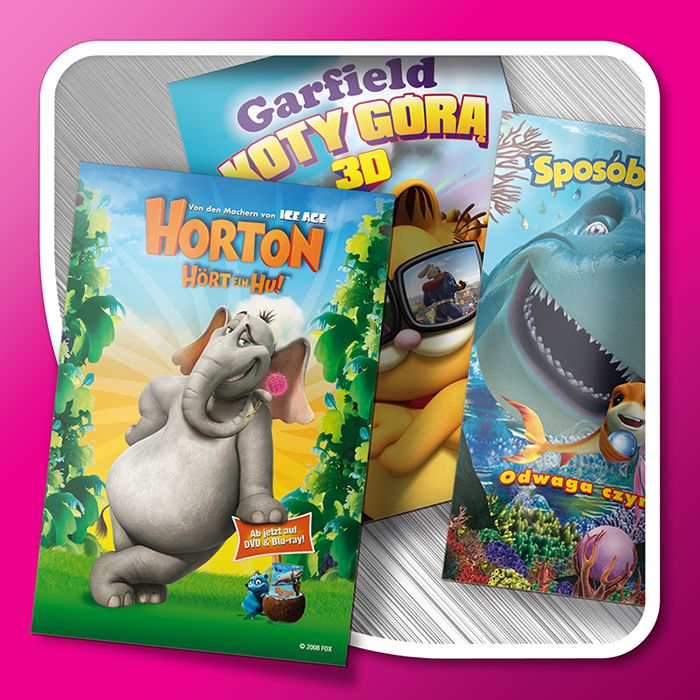 DVD/CD covers (3D effect)