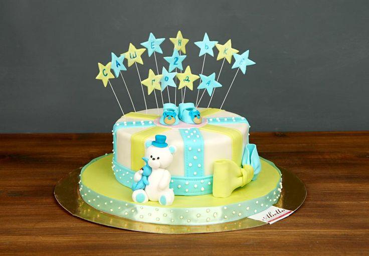 """Детский торт """"Расти, малыш""""  Ищете яркий и красочный торт на день рождения❓ Тогда рады вам предложить торт #растималыш ☺️ Такой тортик удивит не только маленького именинника, но и всех гостей!   Тортик как на фото можно заказать от 2-х кг всего за 2350₽/кг. #Фигуркаизмастики мишки включена в стоимость торта.  Специалисты #Абелло готовы помочь с выбором красивого и качественного десерта по любому поводу по единому номеру: +7(495)565-3838 Телефон/WhatsApp/Viber. Наш сайт с примерами работ…"""