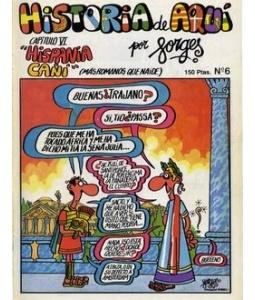 Historia de aquí 6. Los Romanos según Forges. #comic