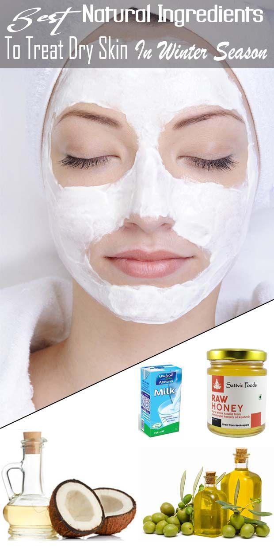 Best Natural Ingredients To Treat Dry Skin In Winter Remedies