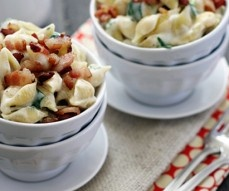 Fontina, Spinach and Bacon Shells and Cheese « 30 Days 30 Ways with ...