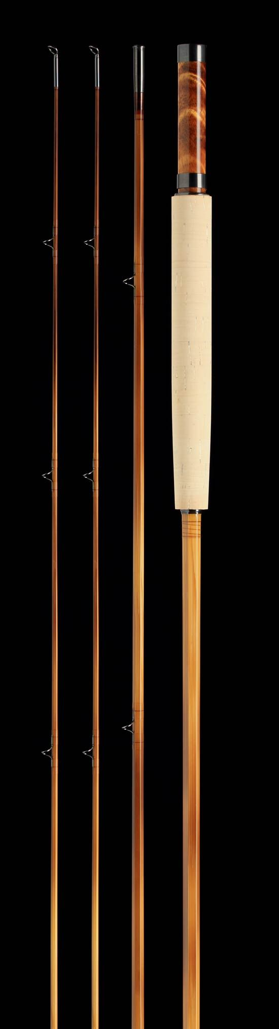 Fly rods bamboo and graphite fly fishing rods eden cane for Bamboo fishing rods