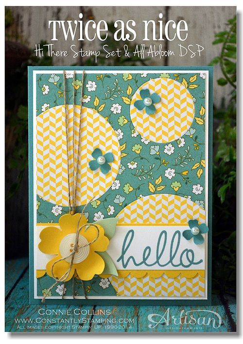 Hi There, Stampin' Up