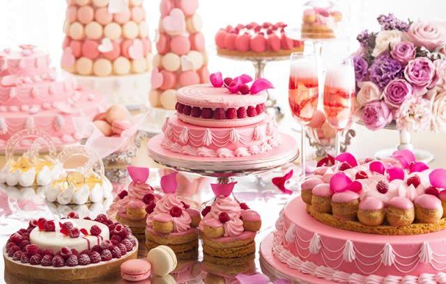 "frederica1995: """"Love Marie Antoinette"" dessert buffet at Hilton hotel Tokyo """