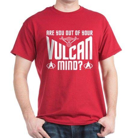 Vulcan Mind T-Shirt on CafePress.com