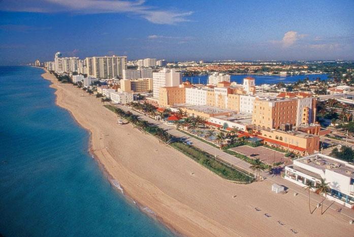 Hollywood Beach Resorts - Hollywood Beach Resort Cruise Port Hotel Florida
