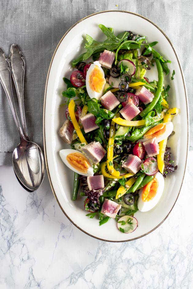 THE STEPFORD HUSBAND: Abgehakt: Salade niçoise mit Thunfischfilet