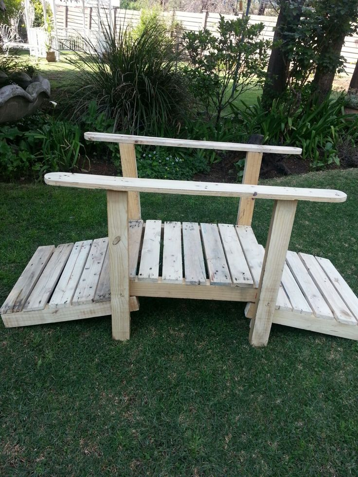 Parys Rustic décor - Garden bridge
