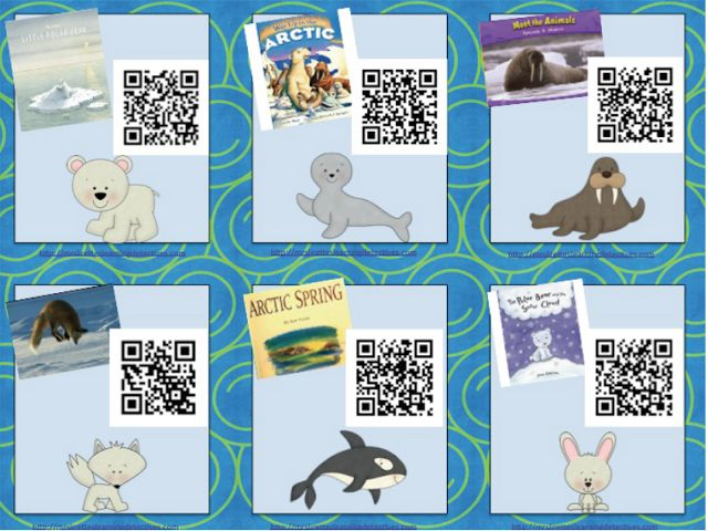 Arctic Animals QR Code Read Alouds {FREE!} | Mrs. Lirette's Learning Detectives | Bloglovin'