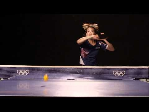 amazing table tennis slow motion. our favorite shoot ever.