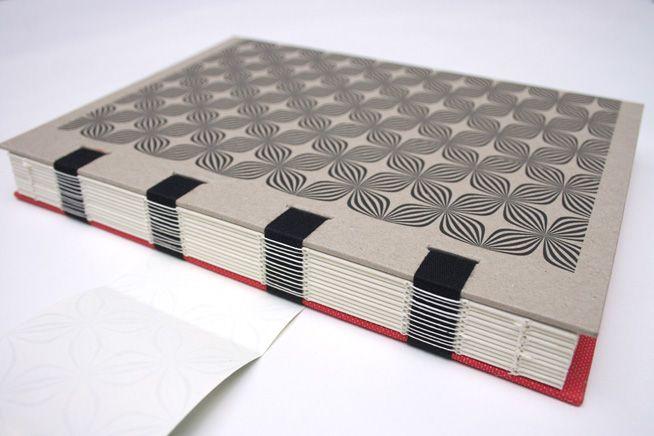Couture apparente sur rubans - David Cauwe Graphisme