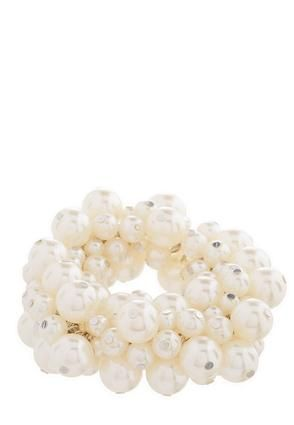 Cato Fashions Pearl Cluster Bracelet #CatoFashions #CatoSummerStyle