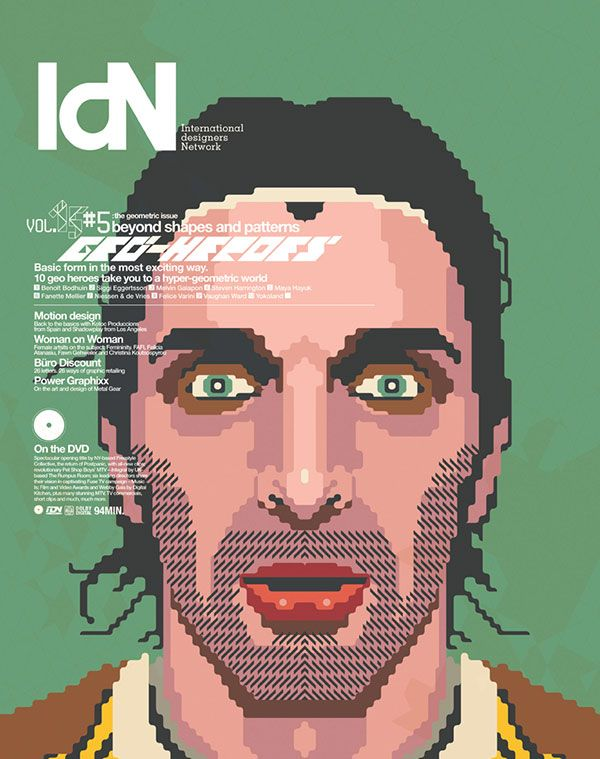 IdN v15n5: The Geometric Issue — Shaping up to geometric design