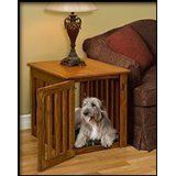 Amazon.com: wood table dog crate - 4 Stars & Up: Pet Supplies