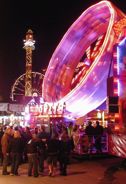 Hull Fair - Motion camera shots