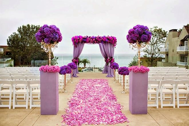 Wedding Day Look: Purple Paradise | bellethemagazine.com