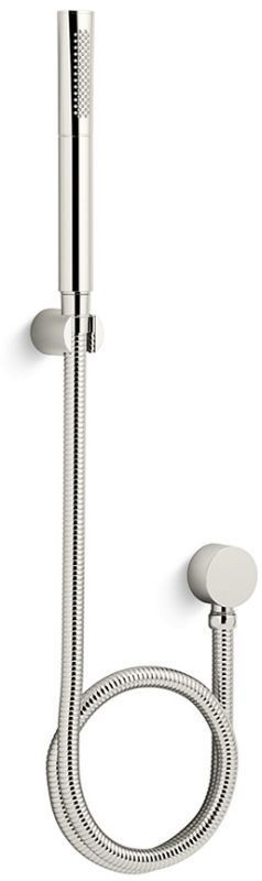 Kallista P24843-00 One 2.0 GPM Multi Function Hand Shower with Hose Included Nickel Silver Showers Hand Showers Multi Function