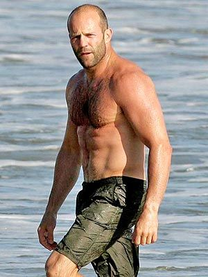 Jason Stratham  The Mechanic,Crank, Transporter, etc.  So so movies but I like him