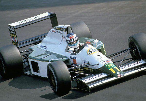 Mika Hakkinen (Lotus-Judd V8, 102B)