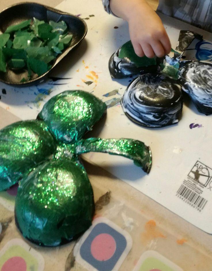 St Patrick's Day in preschool!
