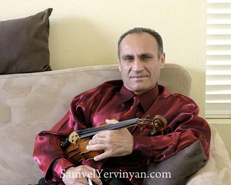 EL MEJOR VIOLINISTA DE YANNI, SAMVEL YERVINYAN - IAN - Club Amigos de Armenia
