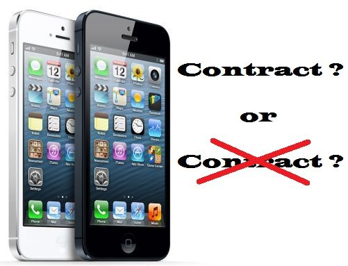 Cheapest Contract Free iPhone 5 Plan ?