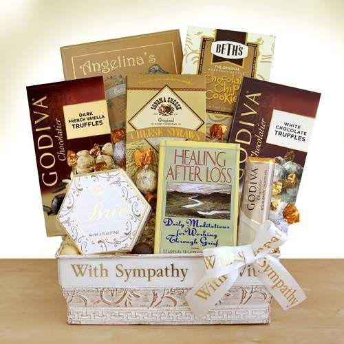 Healing and Hope Sympathy Basket