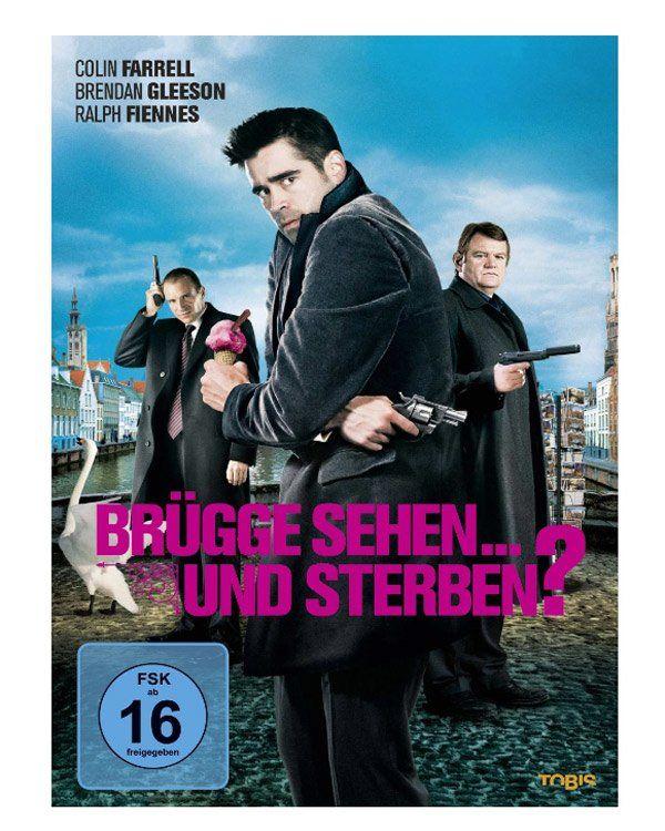 """Colin Farrell kann auch komisch - in """"Brügge sehen und sterben"""" spielt der Frauenschwarm einen tollpatschigen Gangster, der mit seinem Kompagnon in Brügge auf viel Unbill und die große Liebe (Clemence Poesy) trifft. Dieser witzige Gangster-Film mit einer großartigen Verfolgungsjagd durch das beschauliche belgische Städtchen eignet sich bestens für ein Date, denn hier ist alles dabei, was man sich von einem guten Film erwartet: Liebe, Action, ein paar Neurosen, tolle Gags und eben Colin…"""
