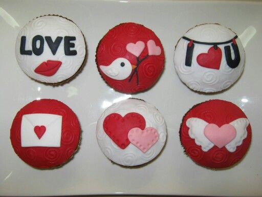 Cupcakes del día del amor by Mil Formas Mil Colores