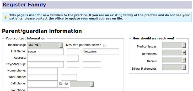 Enrolling Patient Form  Google Search  For The Office
