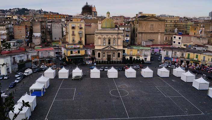 La storica Piazza Mercato cuore di un progetto di rilancio: un anno di attività per la formazione dei giovani e il risveglio dell'intero quartiere.