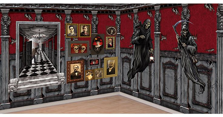 Scene Setters - Haunted House - Decorations, Supplies - Halloween Costumes - Party City