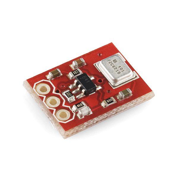 Breakout Board for INMP401 (ADMP401) MEMS Microphone - BOB-09868 - SparkFun Electronics