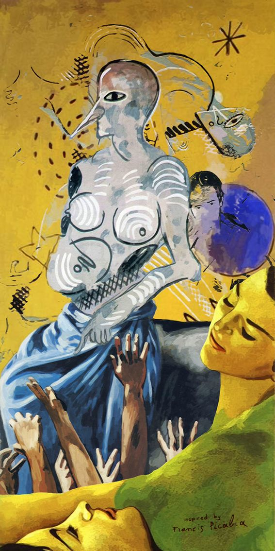Composition of some arty women of Francis Picabia