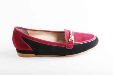 Proday -  Kadın Tpu Tabanlı Bordo-siyah Ayakkabı