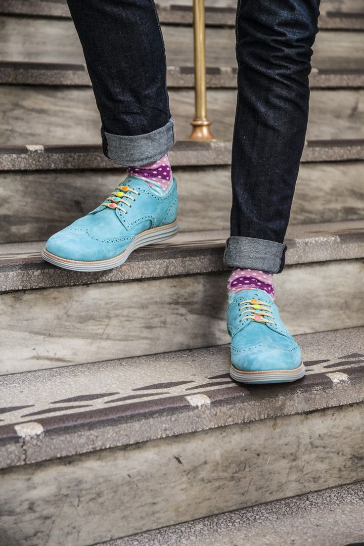 Hickies + blue suede shoes // clever little product! #product_design