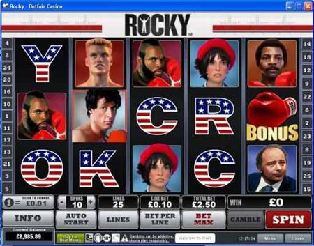When it comes to themed video slot games, Playtech always delivers. The Rocky video slot is packed with a punch and is full of excitement! Click pin to check it out.