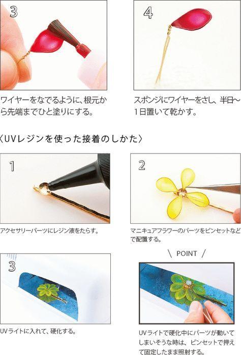 マニキュアとUVレジンで作るネックレスの作り方(アクセサリー)