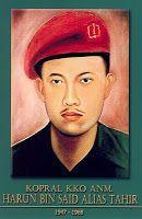 gambar-foto pahlawan nasional indonesia, Harun Bin Said