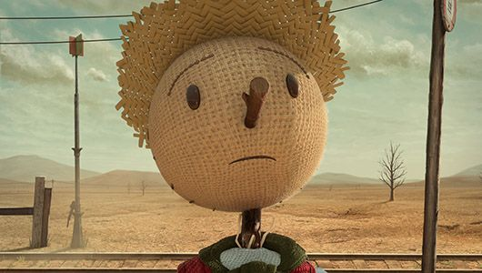 Chipotle's haunting 'Scarecrow' video launches conversation about real food http://www.mnn.com/money/sustainable-business-practices/blogs/chipotles-haunting-scarecrow-video-launches-conversation