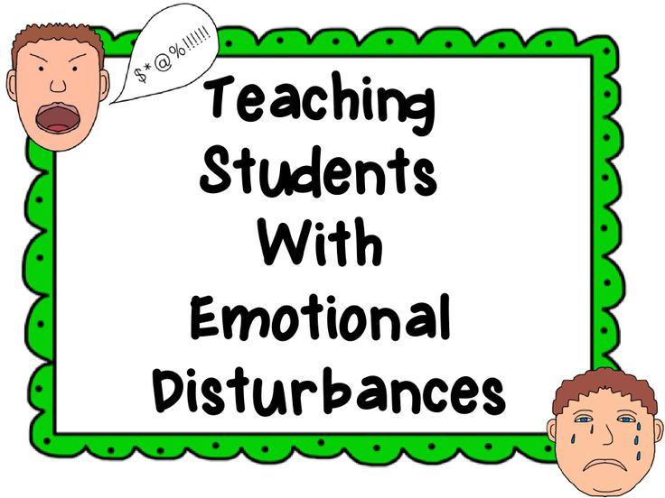 A Tender Teacher for Special Needs: Teaching Students with Emotional Disturbances