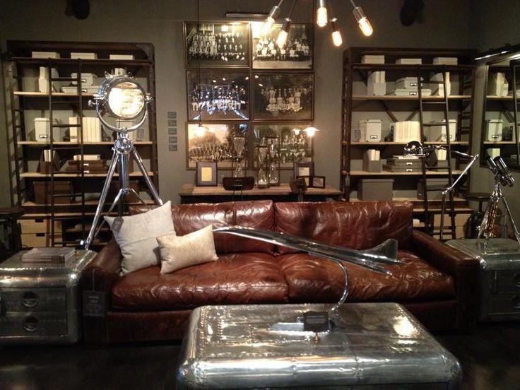 large round sofa tables lexington furniture table best 25+ restoration hardware office ideas on pinterest ...