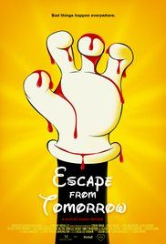 Escape from Tomorrow (2013)  (1/10)    What a rubbish film and a waste of time!    Its supposdly a horror which it is... for the first 10 minutes where a guys head gets dicapitated and then the dad see's creepy faces on the rides... but then it just turns into him perving on two forigen girls for practially the rest of the movie with no horror aspect present.    Then the last 20 minutes just spiral off into weirdness as if to make up for the past 50 minutes of perving.    Utterly garbage!