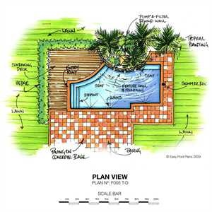 Nice Swimming Pool Plan Design