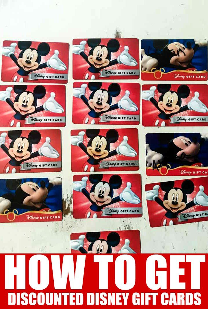 Using Disney Gift Cards When You Are Planning Your Disney World Trip Is A Great Way To Keep On Track Wi Disney Gift Card Discount Disney Gift Cards Disney Gift