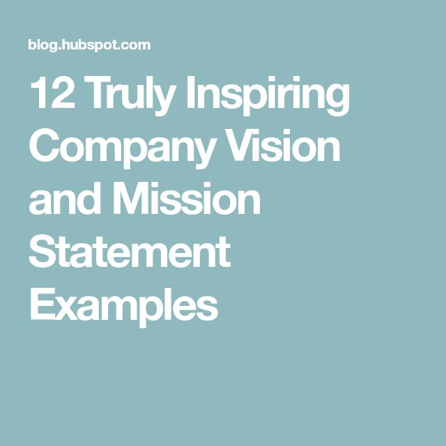 Car Wash Vision And Mission Statement