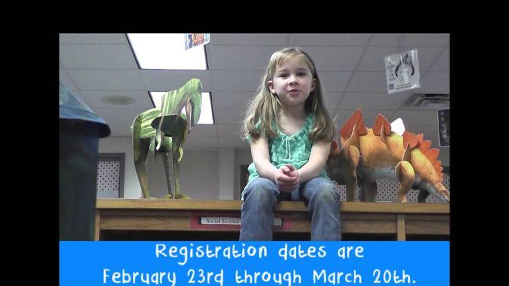Pre-K & Kindergarten registration video!  Learn more at www.hcbe.net/CentralRegistration